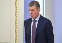 Козак в Молдавии попытается убедить Санду «не плевать в колодец»