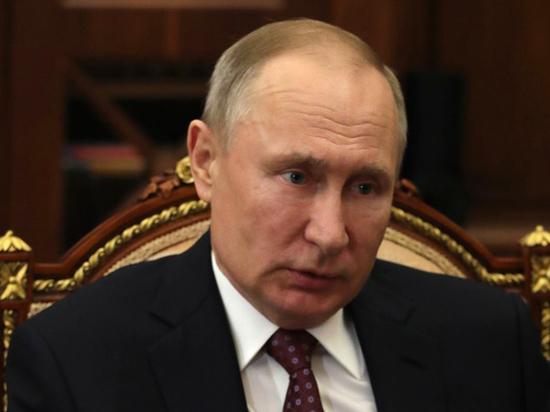 Путин наградил олимпийцев орденами и медалями
