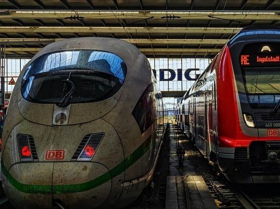 Германия: Забастовка машинистов Deutsche Bahn