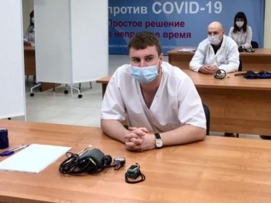 12 августа в Курске заработал самый крупный в Черноземье центр вакцинации от COVID-19