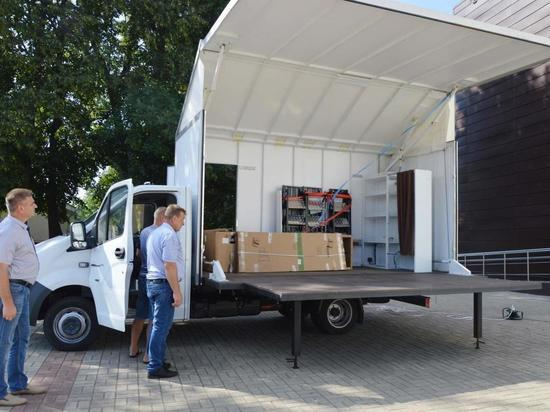 В Курской области заработал передвижной многофункциональный автоклуб за 4,7 млн