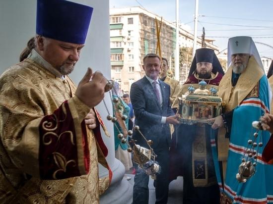 В Курске до 14 августа пробудут мощи святого князя Александра Невского