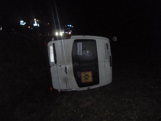 По факту дорожно-транспортного происшествия полиция проводит проверку
