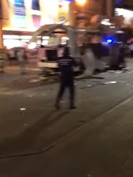 В Воронеже завершились следственные действия на месте взрыва автобуса