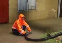 За одну ночь в Анапе выпала трёхмесячная норма осадков