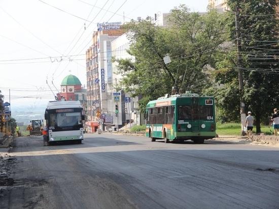 В Курске срок ограничения движения по улице Радищева продлили до 23 августа