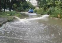 Побережье Кубани продолжает заливать дождём
