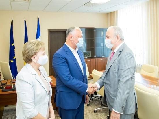 Игорь Додон выступает за укрепление отношений Молдовы с ПАЧЭС