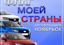 Владельцев белых, синих и красных машин приглашают на зрелищный флешмоб в Ноябрьске