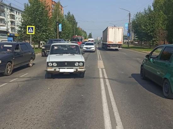 В Кирове водитель «шестерки» травмировал двух детей