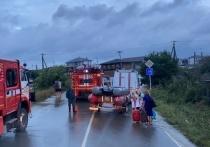 В Анапе из-за наводнения эвакуировали 458 жителей