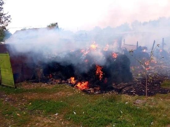 За сутки в Курской области произошло семнадцать пожаров