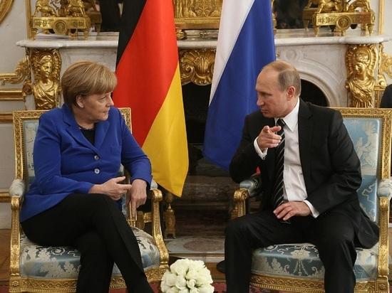 «Последний отчет перед начальством»: британцы оценили встречу Меркель и Путина