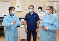 Владимир Якушев оценил новый госпиталь для лечения коронавируса в Салехарде