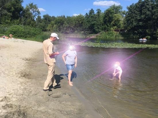 В выходные дни курские спасатели усилили контроль на водоемах