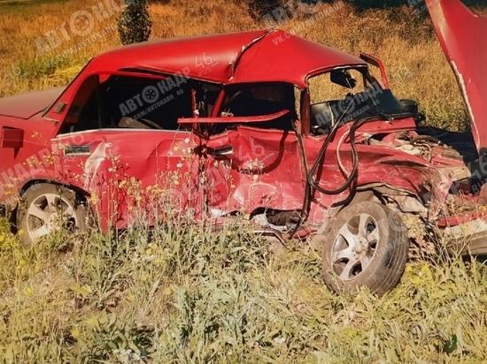 В Курской области в ДТП пострадал 41-летний водитель «Жигулей»