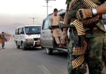 """Члены радикального движения """"Талибан"""" (запрещено в России) взяли под контроль государственное телевидение Афганистана, сообщает телеканал Al Arabiya"""