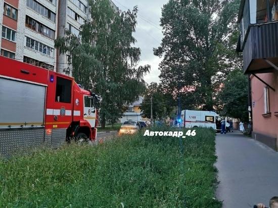 В Курске на Черняховского водитель ВАЗ сбил 35-летнюю женщину