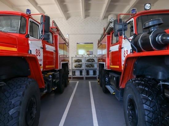 В Волгоградской области готовят к работе еще девять пожарных депо