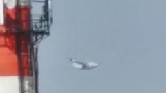 Момент падения самолета Ил-112В у Кубинки попал на видео