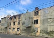 Сгоревший дом на Салтыкова-Щедрина в Калуге снесут на текущей неделе
