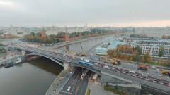 Капремонт Большого Каменного моста за 59 секунд