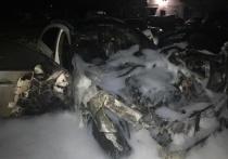 Неизвестный поджег автомобиль в Великих Луках