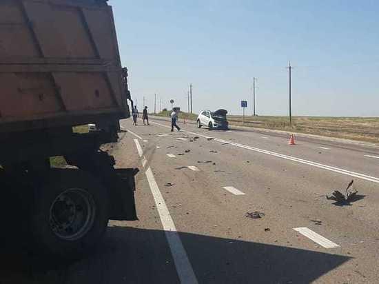 В Курской области 4 человека ранены в ДТП в Тимском районе