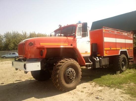 Курская область получила две пожарные автоцистерны