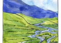 Цветной Север: художницу из Нижнего Новгорода покорили пейзажи Ямала