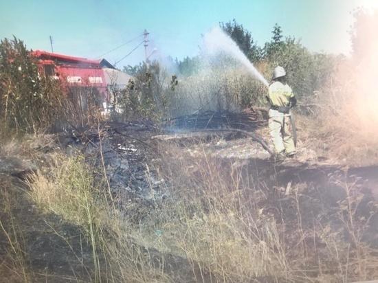 В Курской области растет класс пожарной опасности и количество возгораний