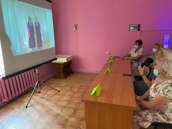 В Ялте проводят фестиваль-конкурс самодеятельности среди пенсионеров