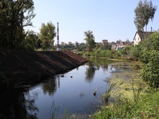 Комитет природных ресурсов Курской области расчистил 600 метров протоки Кривец