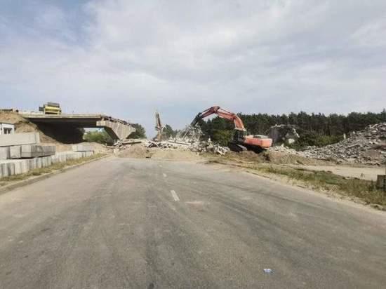 Ремонт путепровода на ПЛК в Курске завершат в июле 2022 года