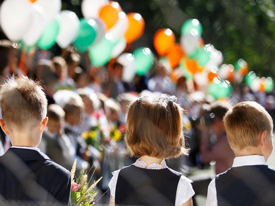 В Курской области участниками школьных линеек 1 сентября станут только первоклассники и выпускники