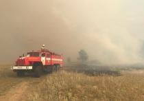 На ликвидацию возгорания потребовалось несколько суток, были задействованы более 130 человек и 40 единиц техники