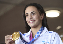 Израильская гимнастка Линой Ашрам, которая на завершившейся Олимпиаде обошла россиянку Дину Аверину и получила золотую медаль в индивидуальном многоборье, прокомментировала свою победу