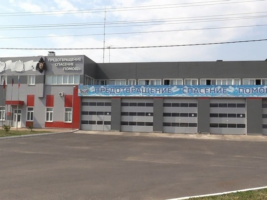 В Курске определили лучшую пожарно-спасательная часть
