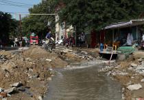 Последствия сильнейших ливней в Анапе: город