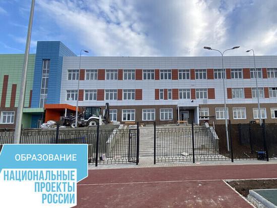 В Маловидном открывают школу на 250 мест