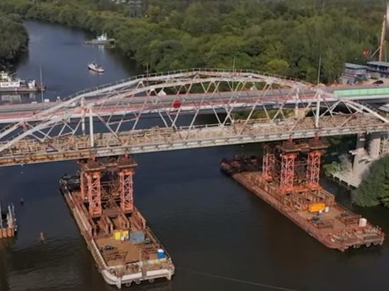 Мост через Москву-реку загадочно уплыл: уникальная операция в Воскресенске