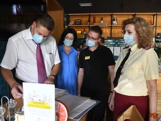 В ресторанах Волгограда проверили соблюдение антиковидных мер
