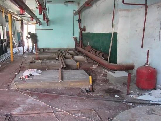 В поселке Пристень Курской области почти за 20 млн рублей реконструируют котельную