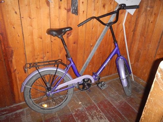 Велосипед изъят сотрудниками полиции и уже передан заявительнице