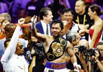 В воскресенье, 22августа, когда в Москве будет ранее утро, в развлекательном комплексе T-Mobile Arena в Лас-Вегасе пройдет вечер бокса, в рамках которого состоится бой Мэнни Пакьяо– Йорденис Угас. Легендарный боксер, которого президент Филиппин называл своим преемником, будет бороться за титул WBA Super. «МК-Спорт» объясняет, почему в этом поединке не будет нокаута.