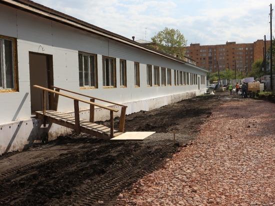Ученики красноярской школы №86, признанной аварийной, уже в этом году будут учиться в новом здании