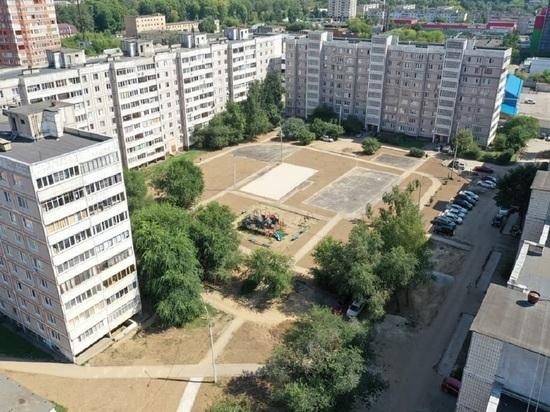 В Серпухове в разгаре благоустройство дворов