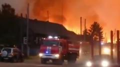 Лесные пожары разбушевались в Марий Эл: кадры тушения