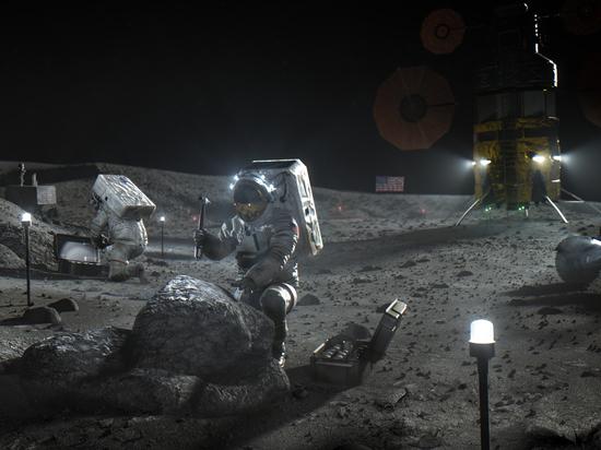 «Лунный контракт» NASA с Илоном Маска заморозили из-за иска Безоса
