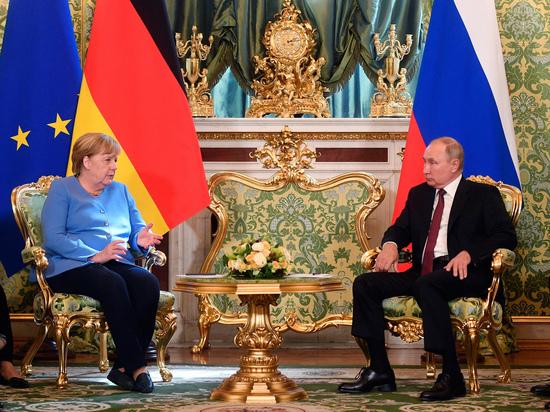 Западные СМИ оценили встречу Путина и Меркель: «Напряженное перетягивание каната»